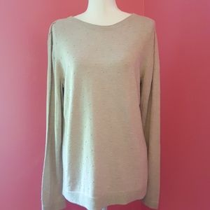 Christopher & Banks Pointelle Sweater